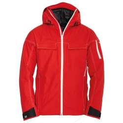 M's Swisswool Anorak | Red