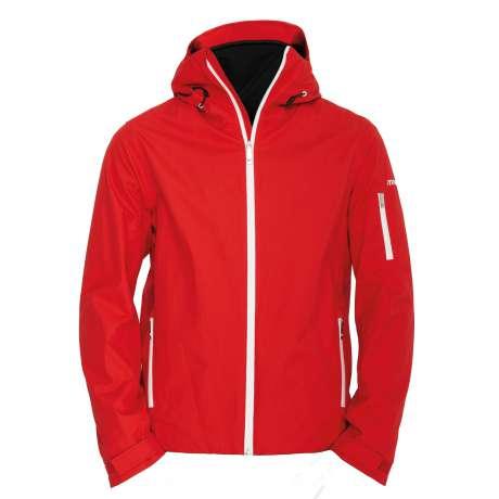 M's Wool Anorak |Red
