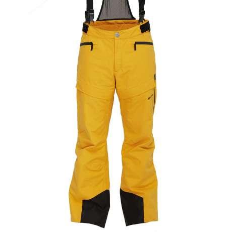 M's Wool Trousers | Saffron