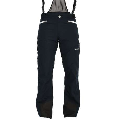 M's Wool Trousers | Black Navy / White