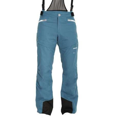 M's Wool Trousers   Azzurro / White