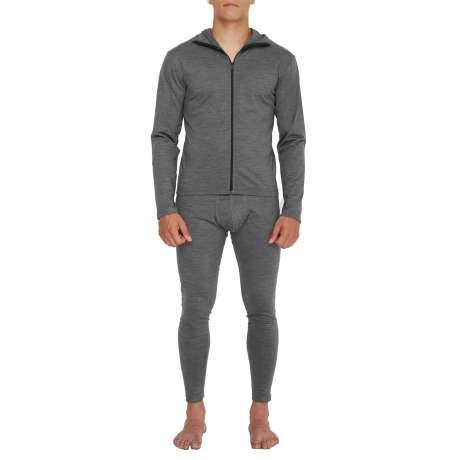 M's Merino jersey Hoody | Dark Grey