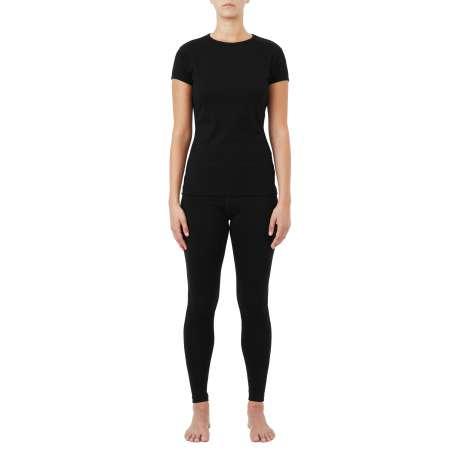 W's Merino jersey T-Shirt   Black