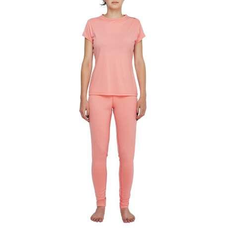 W's Merino jersey T-Shirt   Pink