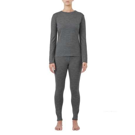 W's Merino jersey LS T-Shirt | Dark Grey