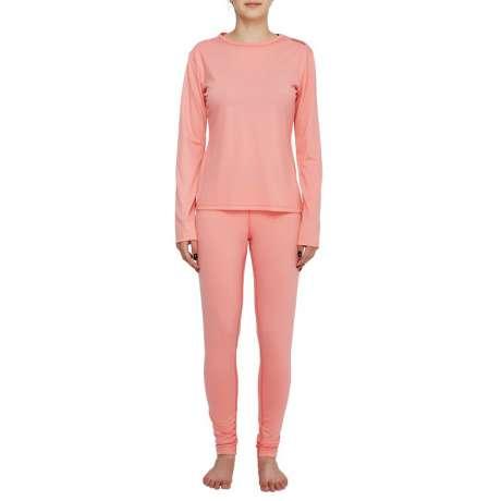 W's Merino jersey LS T-Shirt | Pink