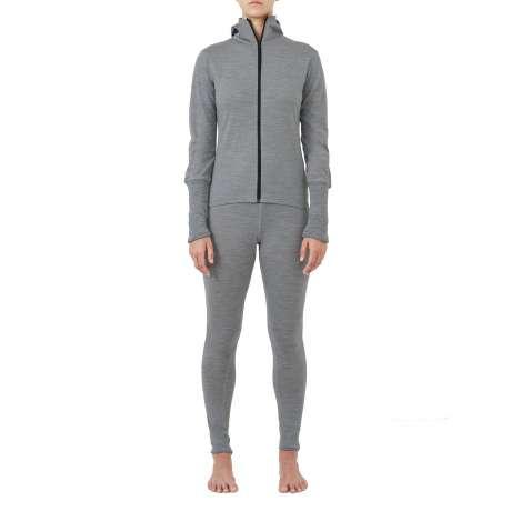 W's Merino jersey Hoody | Light Grey