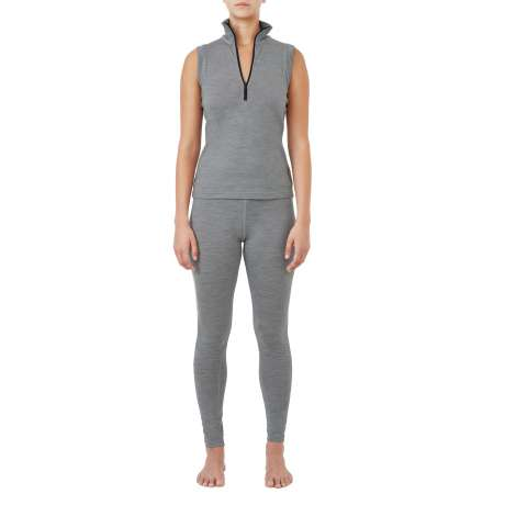W's Merino jersey Sleeveless   Light Grey