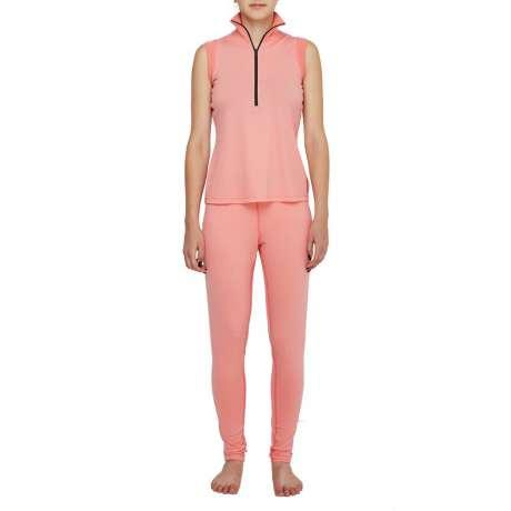 W's Merino jersey Sleeveless   Pink