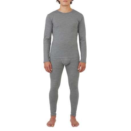 M's Merino jersey LS T-Shirt |Light Grey
