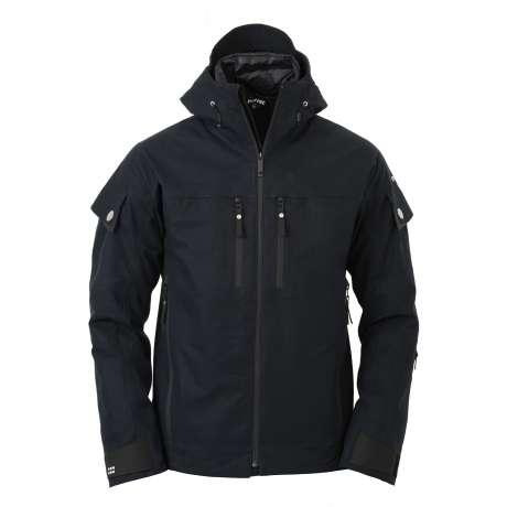 M's Shell Zip-In Jacket  Black Navy / Black
