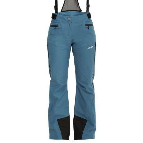 W's Wool Trousers   Azzurro / Black